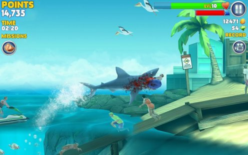 Download The Old Version Of Hungry Shark Evolution Hacked Hungry